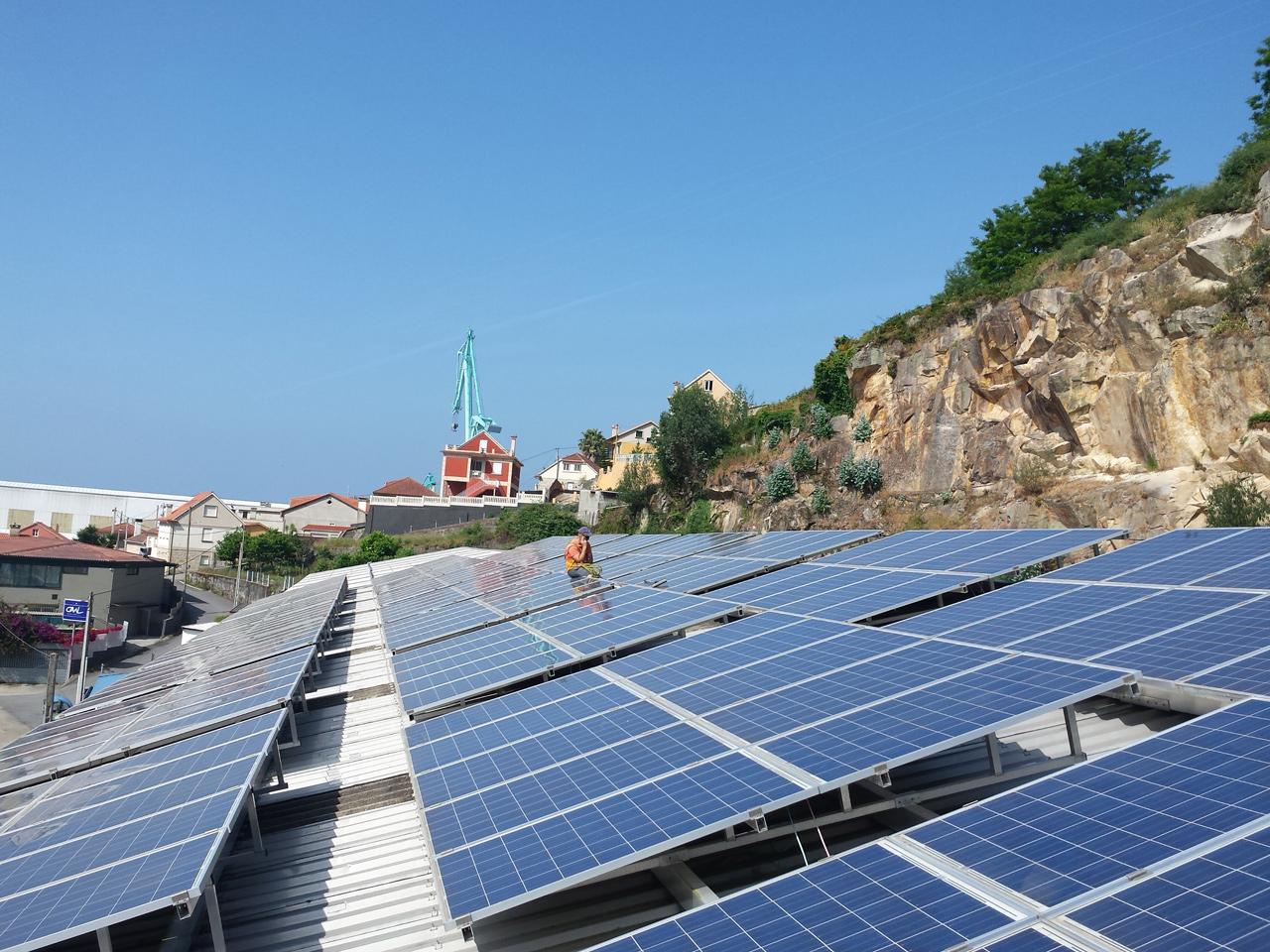 Fotovoltaica 50 kW Ria de Vigo