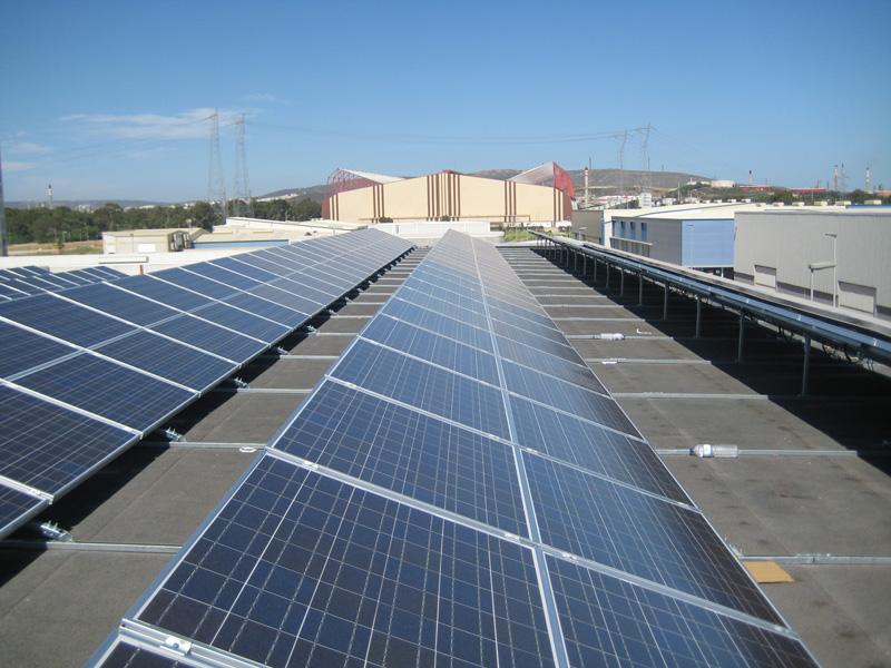 Instalación fotovoltaica industrial 100kw