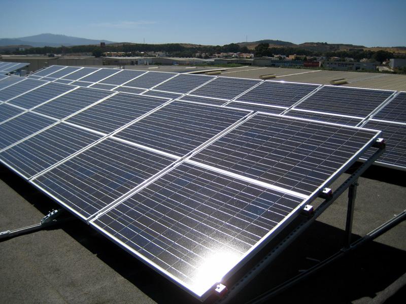 Paneles solares en Galicia