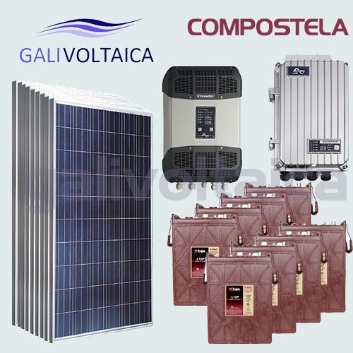 Placas Solares Santiago de Compostela