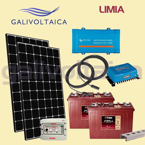 Kit solar segunda vivienda