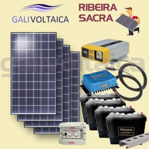 Placas solares bodega