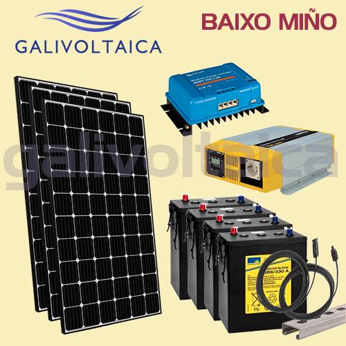 Kit Solar O Rosal