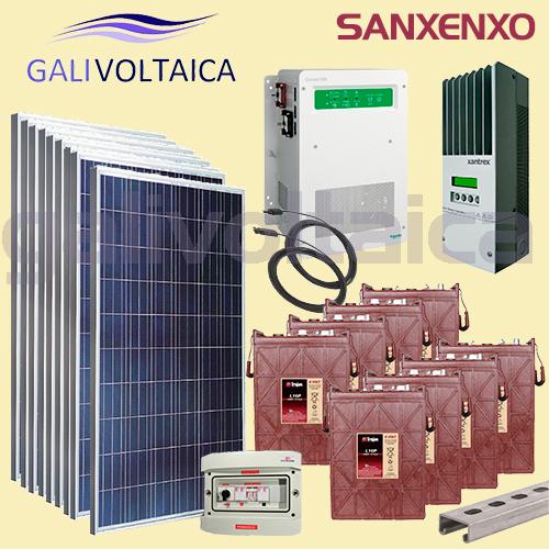 Placas solares Sanxenxo