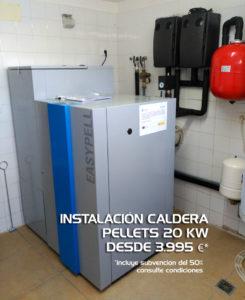 caldera de biomasa Galicia