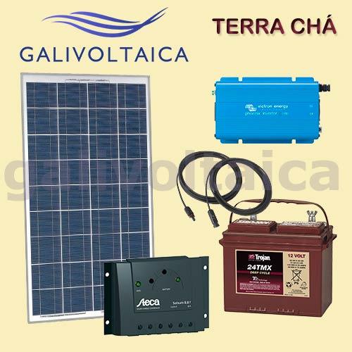 Kit solar pequeña potencia