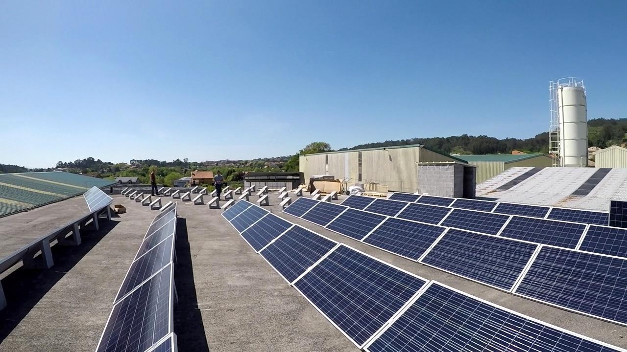 axudas fotovoltaica sector industrial
